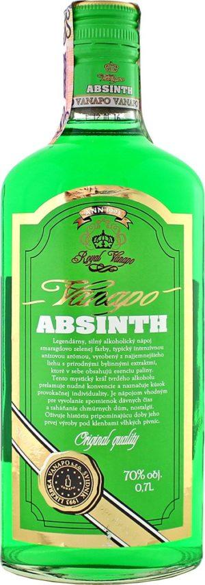 Vanapo Absinth Royal 70% 0