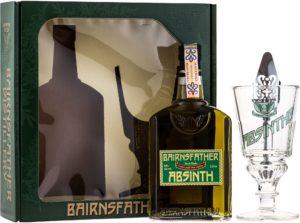 Bairnsfather Absinth + pohár + lyžička 55% 0